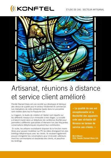 Artisanat, réunions à distance et service client amélioré - Konftel