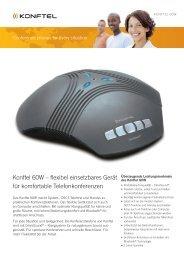 Konftel 60W – flexibel einsetzbares Gerät für komfortable ...