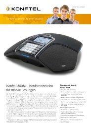 Konftel 300M – Konferenztelefon für mobile lösungen