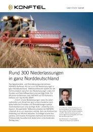 Rund 300 Niederlassungen in ganz Norddeutschland - Konftel