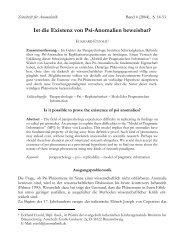 Ist die Existenz von Psi-Anomalien beweisbar? - Gesellschaft für ...