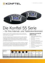 Die Konftel 55 Serie