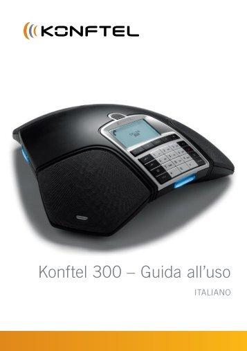 User guide Conference phone Konftel 100