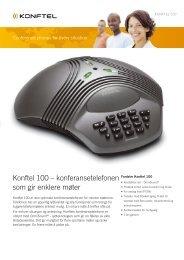 Konftel 100 – konferansetelefonen som gir enklere møter