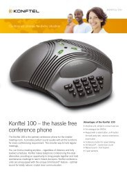 Konftel 100 – the hassle free conference phone