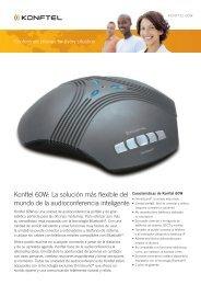 Konftel 60W: la solución más flexible del mundo de la ...