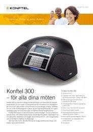 Produktblad - Konftel 300
