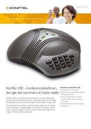 Konftel 100 – konferencetelefonen, der gør det nemmere at holde ...
