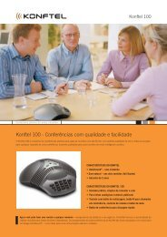Konftel 100 - Conferências com qualidade e facilidade