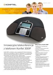 Innowacyjne telekonferencje z telefonem Konftel 300IP