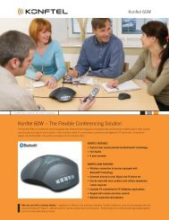 Konftel 60W – The Flexible Conferencing Solution