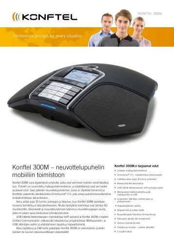 Konftel 300M – neuvottelupuhelin mobiiliin toimistoon