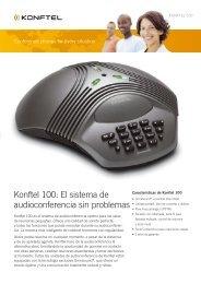Konftel 100: el sistema de audioconferencia sin problemas