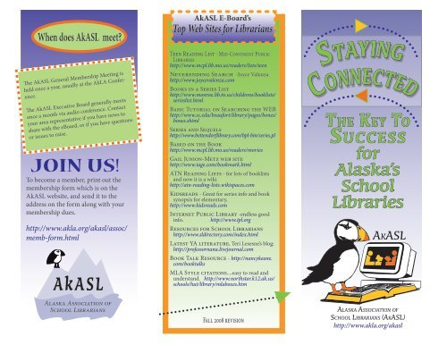 AkASL - Alaska Library Association