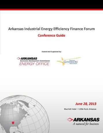 1 | P a g e - Arkansas Economic Development Commission