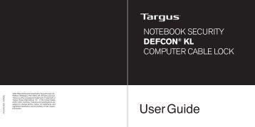 ASP48EU User Guide - Targus