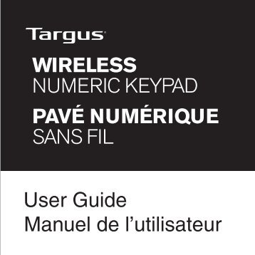 Wireless Numeric Keypad - Targus