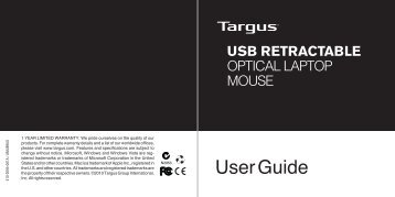 User Guide - Targus