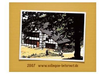 2007 www.solingen-internet.de