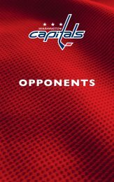 opponents - Washington Capitals - NHL.com