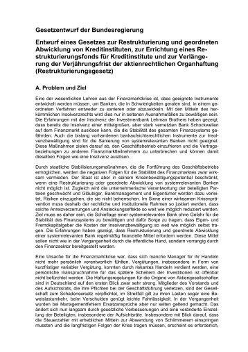 20100825-Gesetzentwurf ... - PwC Blogs