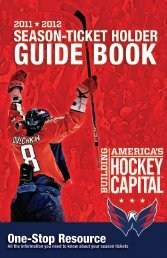 The Information You Need To Know About - Washington Capitals ...