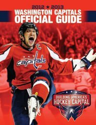 2012-13 Washington Capitals Media Guide
