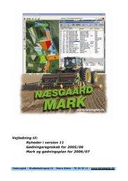 Vejledning ver. 11.0 - Næsgaard Mark Hjælpesystem - Datalogisk