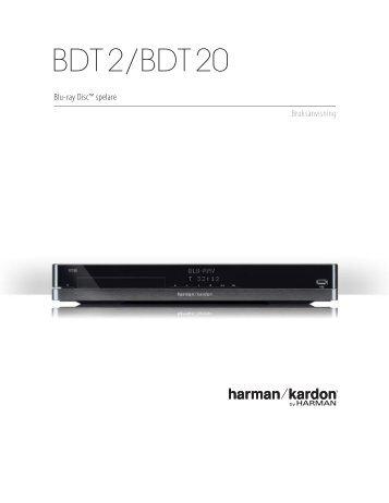 BDT 2/BDT 20 - Harman Kardon