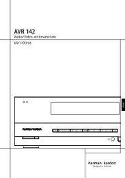 AVR 142 - Harman Kardon