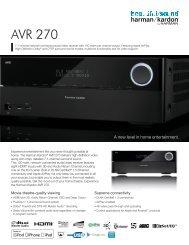 AVR270_SS_EN - AKG