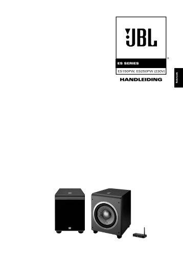 Owners Manual - ES150PW, ES250PW (Dutch) - JBL