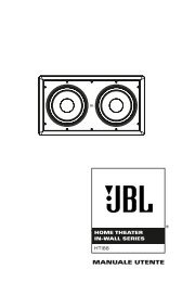 Home Theater In-Wall Series - JBL