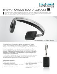HARMAN KARDON® HOOFDTELEFOONS