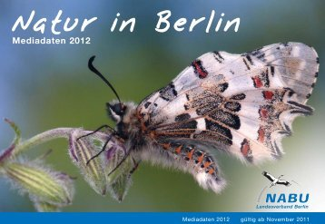 Natur in Berlin Mediadaten 2012 - Nabu