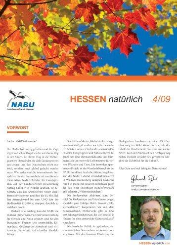 HESSEN natürlich 4/09 - Nabu