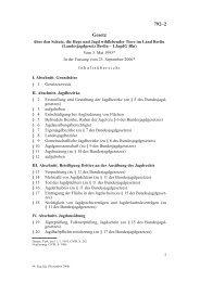 LandesjagdGes. Berlin - LJagdG Bln - Senatsverwaltung für ...