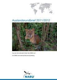 Auslandsrundbrief 2011/2012 - Nabu