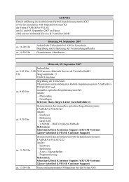Download Agenda - ANS -answer elektronik- Service