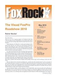 Using ADO and Visual FoxPro 6 0 to Access SQL     - dFPUG-Portal