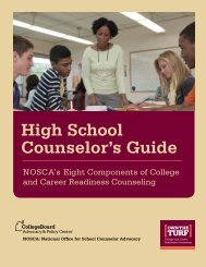 High School Counselor's Guide - College Board Advocacy & Policy ...