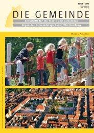 BWGZ 1 - Gemeindetag Baden-Württemberg