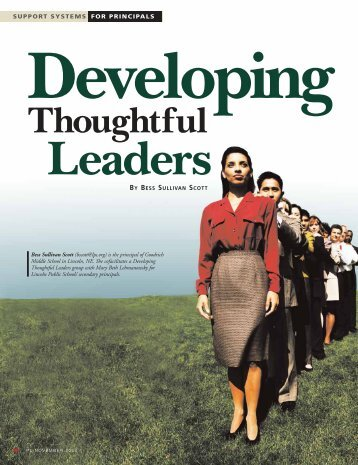Developing Thoughtful Leaders - College Board