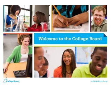 Welcome to the College Board