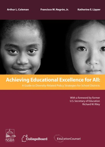 Achieving Educational Excellence for All: - Access & Diversity ...