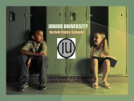 Junior University - College Board