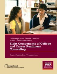 Eight Components of College and Career Readiness Counseling
