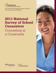 2011 National Survey of School Counselors ... - Civic Enterprises
