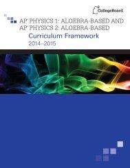AP Physics 1 - College Board