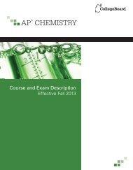 AP® CHEMISTRY - College Board